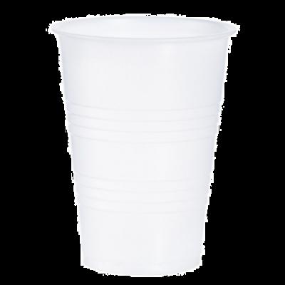 Dart Y10 10 oz Conex Galaxy Plastic Cold Cups, Polystyrene, Translucent - 2500 / Case