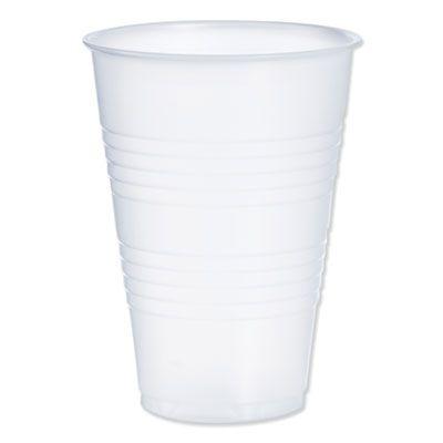 Dart Y14 14 oz Conex Galaxy Plastic Cold Cups, Polysytrene, Translucent - 1000 / Case