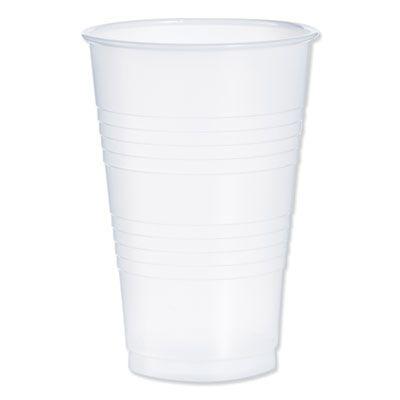 Dart Y20 20 oz Conex Galaxy Plastic Cold Cups, Polystyrene, Translucent - 1000 / Case