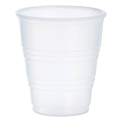 Dart Y5 5 oz Conex Galaxy Plastic Cold Cups, Polystyrene, Translucent - 2500 / Case