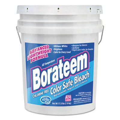 Dial 145 Borateem Chlorine-Free Color Safe Laundry Bleach Powder, 17.5 Lb Pail - 1 / Case