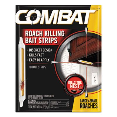 Dial 01000 Combat Ant Bait Insecticide Strips, 0.35 oz - 60 / Case