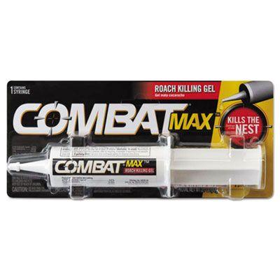 Dial 5455 Combat Source Kill MaxRoach Roach Killing Gel, 2.1 oz Syringe - 12 / Case