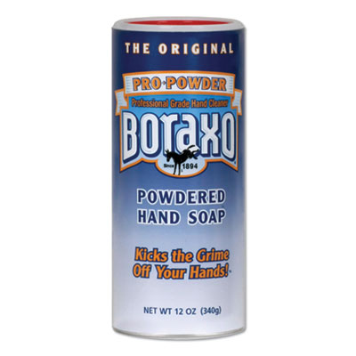 Dial 10918 Pro Powder Boraxo Powdered Hand Soap, 12 oz Canister - 12 / Case
