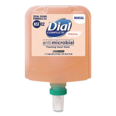 Dial 19720 Complete Antimicrobial Foaming Hand Wash, 1700 ml Refill - 3 / Case