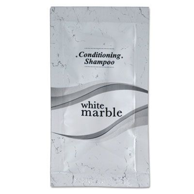 Transmacro Amenities 20817 Breck Shampoo / Conditioner, Clean Scent, 0.25 oz Packet - 500 / Case