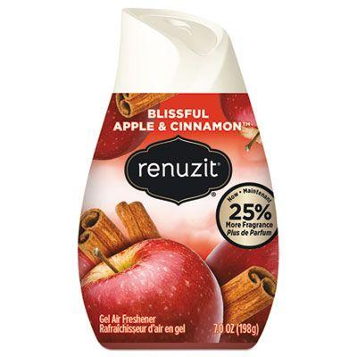 Dial 3674 Renuzit Cone Gel Air Freshener, Blissful Apple & Cinnamon Scent, 7 oz - 12 / Case