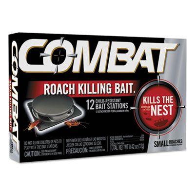 Dial 41910 Combat Small Roach Bait - 12 / Case