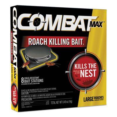 Dial 51913 Combat Roach Bait Insecticide, 0.49 oz Bait - 96 / Case