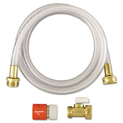 "Diversey 3191746 RTD Water Hook-Up Kit, Switch, On/Off, 3/8"" Diameter x 5' - 12 / Case"