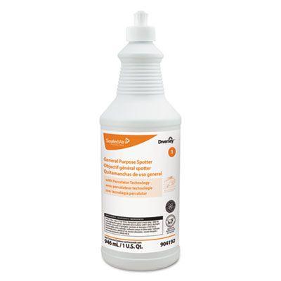 Diversey 904192 General Purpose Stain Spotter, Floral Scent, 1 Quart Squeeze Bottle - 6 / Case
