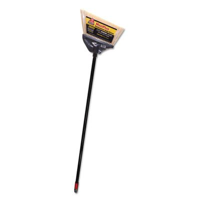 "Diversey 91351 O-Cedar Commercial MaxiPlus Professional Angle Broom, 51"", Black - 4 / Case"
