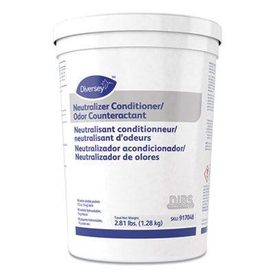 Diversey 917048 Floor Conditioner / Odor Counteractant, Powder, 1/2 oz Packet - 180 / Case