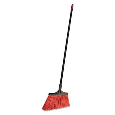 """Diversey CB064205 O-Cedar Commercial MaxiStrong Angle Broom, 56"""", Black - 6 / Case"""