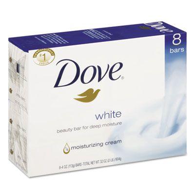 Unilever CB610795 Dove Bar Soap, 4 oz - 72 / Case