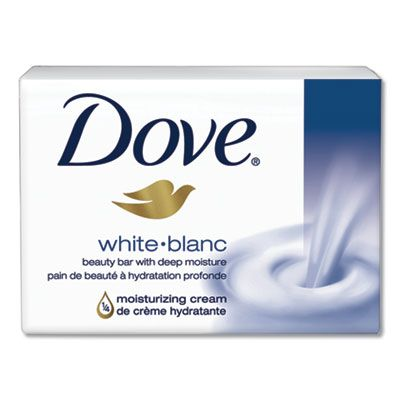 Diversey CB614243 Dove Moisturizing Bar Soap, Pleasant Scent, 3.15 oz - 48 / Case