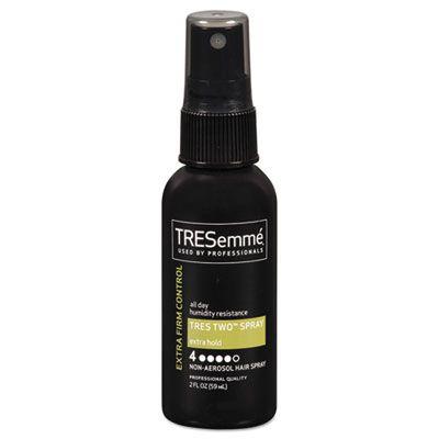 Diversey CB644318 TRESemme Extra Hold Hair Spray, 2 oz Spray Bottle - 24 / Case