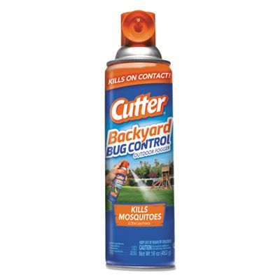 Diversey CB957044 Cutter Backyard Bug Control Outdoor Fogger Spray, 16 oz Aerosol - 12 / Case