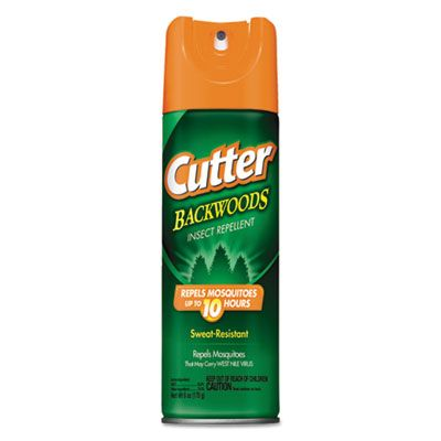 Diversey CB962802 Cutter Backwoods Insect Repellent Spray, 6 oz Aerosol - 12 / Case