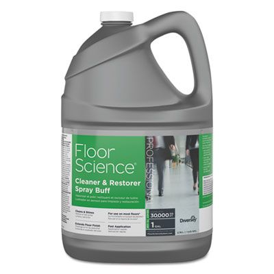 Diversey CBD540458 Floor Science Cleaner / Restorer Spray Buff, 1 Gallon Bottle - 4 / Case