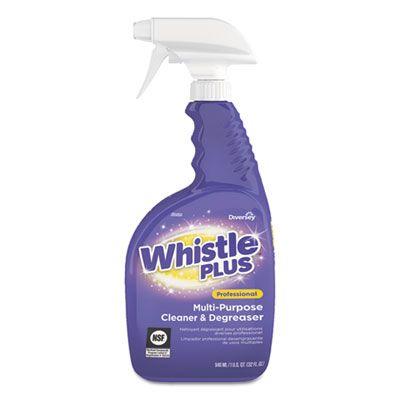 Diversey CBD540564 Whistle Plus All Purpose Cleaner, Citrus, 32 oz Spray Bottle - 8 / Case