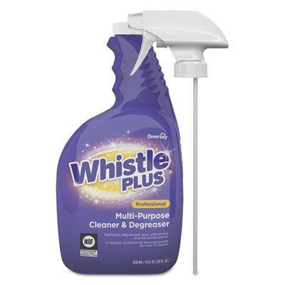 Diversey CBD540571 Whistle Plus All Purpose Cleaner, Citrus, 32 oz Bottle - 4 / Case