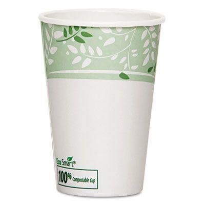 Dixie 2346PLA 16 oz Viridian Ecosmart Paper Hot Cups, PLA-Lined - 1000 / Case