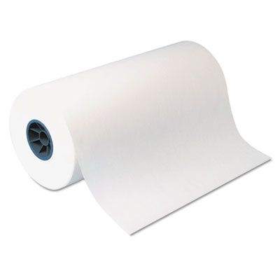 "Dixie KL24 Kold-Lok Polyethylene-Coated Freezer Paper Roll, 24"" x 1100', White - 1 / Case"