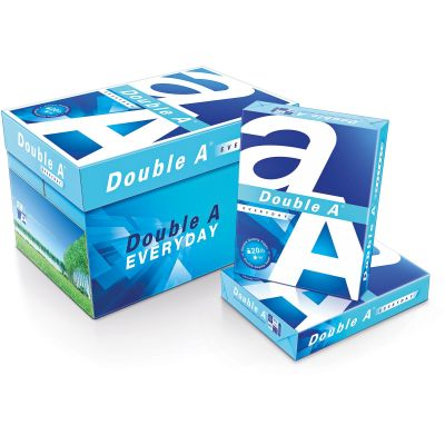 """Double A 851420 Copy Paper, Legal-Size, 8-1/2"""" x 14"""", White - 5000 / Case"""