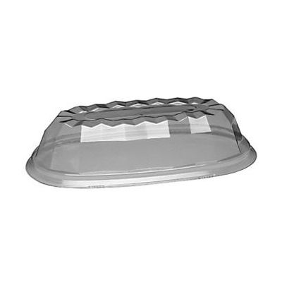Douglas Stephen PD10 Dome Lid for Sensations Banana Split Bowls, Plastic - 500 / Case