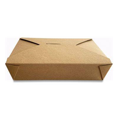 """Dura TTGCK2 Paper Take Out Boxes, 7.75"""" x 5.51"""" x 1.88"""", Kraft - 200 / Case"""