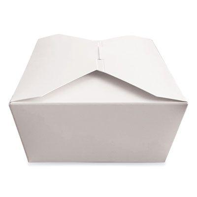 """Dura TTGCW8 Paper Take Out Boxes, 5.98"""" x 4.72"""" x 2.51"""", White - 300 / Case"""