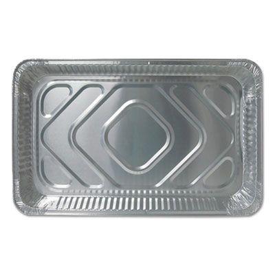 """Durable Pkg FS7800XX Full Size Aluminum Foil Steam Table Pans, 228 oz, 20-3/4"""" x 12-13/16"""" x 2-3/16"""" - 50 / Case"""