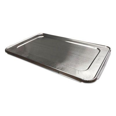 """Durable Pkg 890050XX Aluminum Foil Lids for Full Size Steam Table Pans, 12-7/8"""" x 5/8"""" - 50 / Case"""