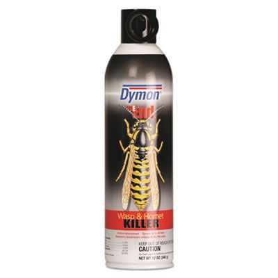 Dymon 18320 The End Wasp & Hornet Killer, 12 oz Aerosol Spray Can - 12 / Case