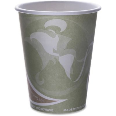Eco-Products EPBRHC12EW 12 oz Paper Hot Cups, Recycled - 1000 / Case
