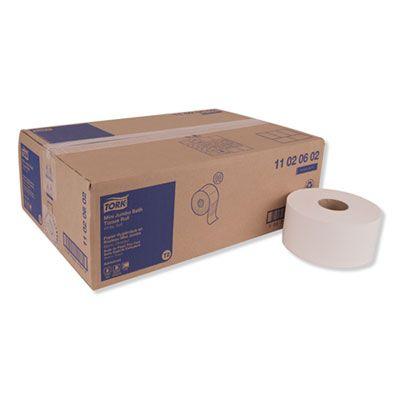 "Essity 11020602 Tork Advanced Jumbo Roll Toilet Paper, 2 Ply, 7.4"" x 751', White - 12 / Case"