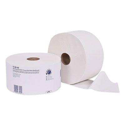 Essity 160090 Tork Universal Toilet Paper, OptiCore, 2 Ply, 2000 Sheets / Roll, White - 12 / Case