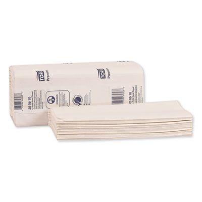 "Essity 250610 Tork Premium C-Fold Paper Hand Towels, 10.13"" x 12.75"", White - 2000 / Case"