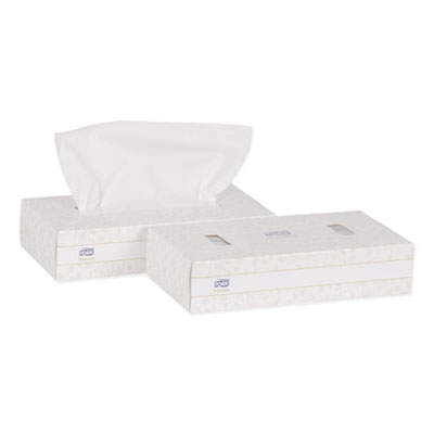 "Essity TF6920A Tork Premium Facial Tissue, 2 Ply, 100 Sheets / Flat Box, 8"" x 8"", White - 30 / Case"