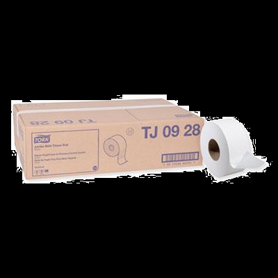 "Essity TJ0928 Tork Universal Jumbo Roll Toilet Paper, 2 Ply, 8.8"" x 750', White - 12 / Case"