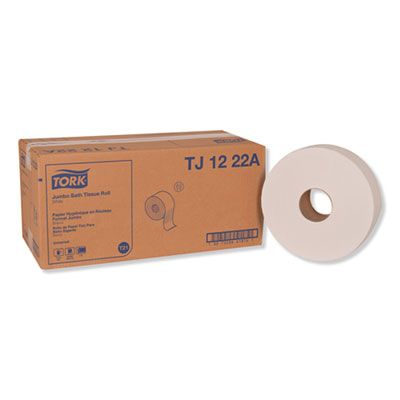 "Essity TJ1222A Tork Universal Jumbo Roll Toilet Paper, 2 Ply, 11.8"" x 2000' - 6 / Case"
