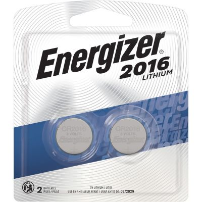Eveready 2016BP2 Energizier CR2016 Lithium Batteries for Watch / Electronics, 3 Volt - 240 / Case