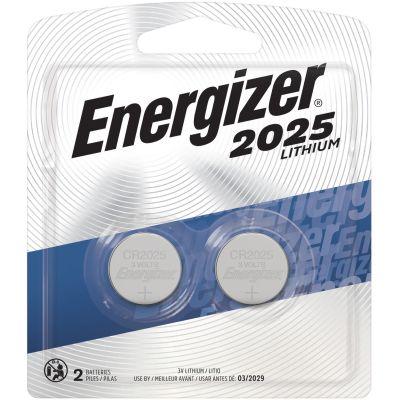 Eveready 2025BP2 Energizer CR2025 Lithium Batteries for Watch / Electronics, 3 Volt - 240 / Case