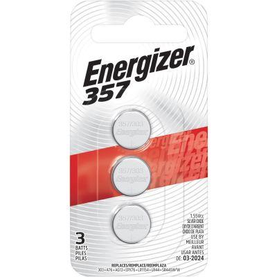 Eveready 357BPZ3 357/303 Energizer Batteries for Watch / Calculator, 1.5 Volt - 360 / Case