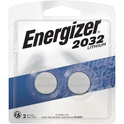 Eveready 2032BP2 Energizer CR3032 Lithium Batteries for Watch / Electronics, 3 Volt - 240 / Case