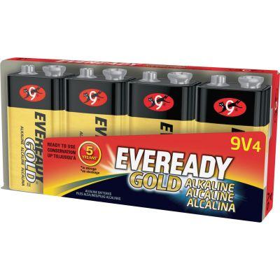 Eveready A5224 Gold Alkaline Batteries, 9 Volt - 96 / Case