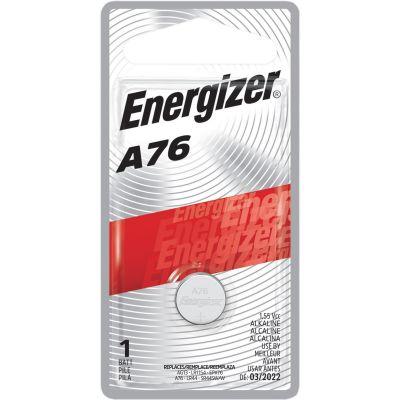 Eveready A76BPZ Energizer A76 Alkaline Batteries for Watch / Electronics, 1.5 Volt - 72 / Case