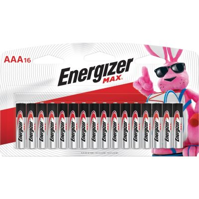 Eveready E92LP16  Energizer Max Alkaline Batteries, AAA Size - 192 / Case