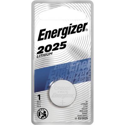 Eveready ECR2025BP Energizer CR2025 Lithium Batteries, 3 Volt - 72 / Case